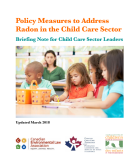 Policy Measures to Address Radon in the Child Care Sector_2018(1)